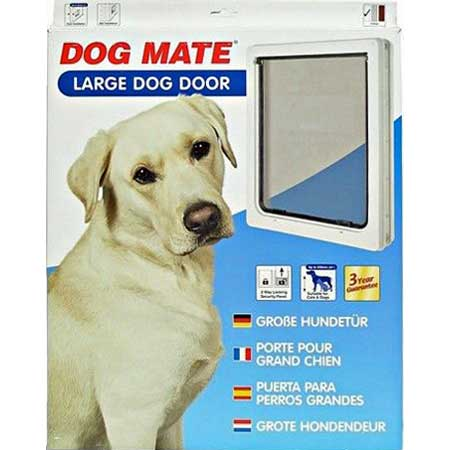 Large microchip pet door