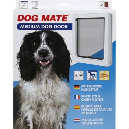Dog Mate medium dog door package