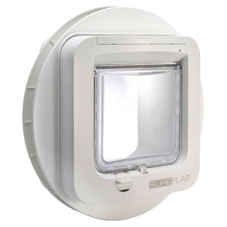 SureFlap microchip cat door + glass adapter