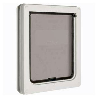 Dog Mate medium dog door (white)