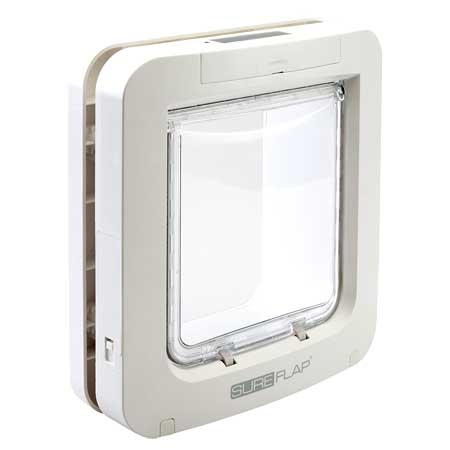 SureFlap microchip large pet door for timber door or wall