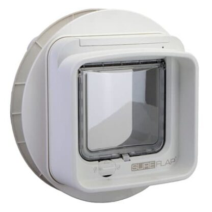 SureFlap DualScan microchip cat door (white) for glass